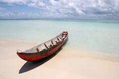 海滩梦想 库存照片