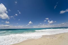 海滩梦想 免版税库存图片