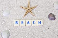 海滩概念 库存图片