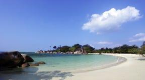 海滩横向 图库摄影