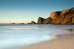 海滩横向 免版税库存图片
