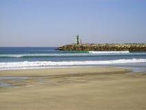 海滩横向 免版税图库摄影