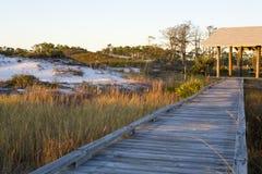 海滩横向 库存照片