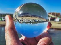 海滩水晶 免版税库存图片