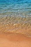 海滩水 免版税库存照片