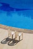 海滩池游泳 库存照片