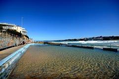 海滩池 图库摄影