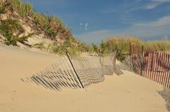 海滩沙丘 图库摄影