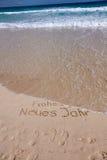 海滩沙子夏天 免版税库存图片