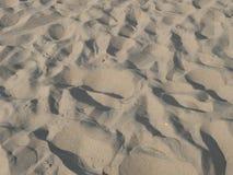 海滩沙子纹理 免版税库存图片