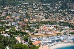 海滩法语手段 免版税图库摄影