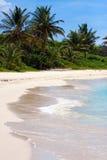 海滩波多里哥沙子白色 库存图片
