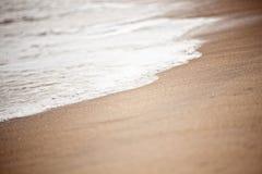 海滩浪潮弗吉尼亚 图库摄影