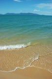 海滩海岛 免版税库存照片