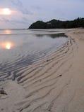 海滩海岛negros sipalay的菲律宾 图库摄影