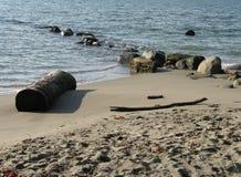 海滩海洋岩石 库存照片