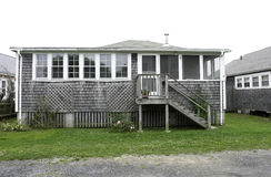 海滩海角房子 免版税库存照片