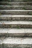 海滩海角执行克里米亚fiolent梯子石头 免版税库存图片