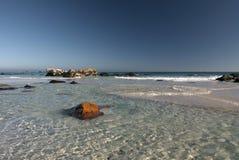 海滩海角clifton城镇 免版税图库摄影