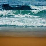 海滩海运 图库摄影