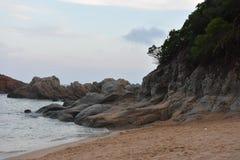 海滩滨海略雷特 库存图片