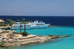 海滩热带的埃及 图库摄影