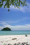 海滩热带的泰国 库存照片