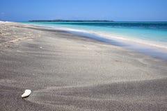 海滩热带美妙 免版税库存图片