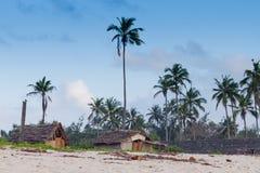 海滩热带肯尼亚的shanzu 图库摄影
