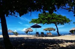 海滩焦点 库存照片
