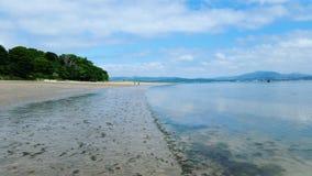 海滩爱尔兰 库存照片
