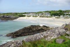 海滩爱尔兰 免版税库存图片