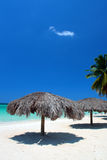 海滩牙买加英里negril七 免版税库存照片