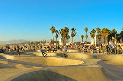 海滩状态团结了威尼斯 免版税库存照片
