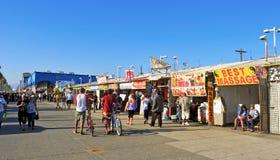 海滩状态团结了威尼斯 免版税库存图片
