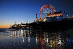 海滩狂欢节晚上 库存照片