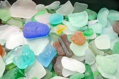 海滩玻璃 免版税库存图片