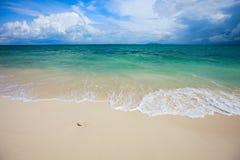 海滩理想热带 库存照片