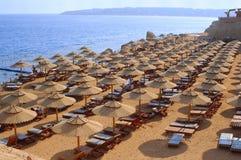 海滩理想的场面 库存照片
