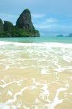 海滩理想的泰国假期 库存照片