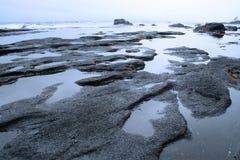 海滩瓷海岛温哥华 免版税库存图片