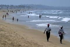 海滩生活 库存照片