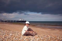 海滩男孩 库存图片
