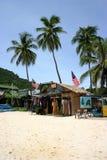 海滩界面 免版税图库摄影