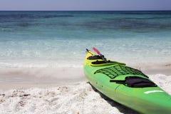 海滩皮船 免版税图库摄影
