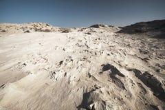 海滩砂岩 免版税图库摄影