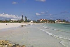 海滩空闲端口 免版税库存图片