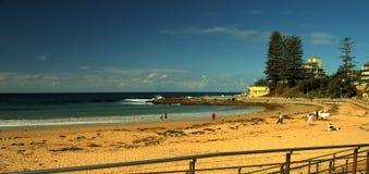 海滩端 免版税图库摄影