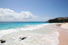 海滩粉红色 免版税库存图片