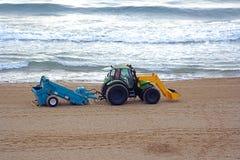 海滩精梳机 免版税图库摄影